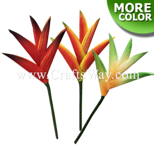 FSH1402 Artificial Foam Heliconia Flowers (Small), available in size 3 inches and 9 colors