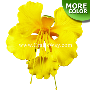 FSH1202 Artificial Foam Ohai-Ali'i Flowers (Type B), available in size 3 ½ inches and 8 colors