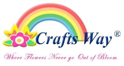 CraftsWay.,LLC Artificial Flowers & Crafts Items