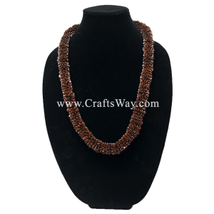 "SD01-1 Ekoa Seed Lei ,Hawaiian Necklace, 30"" Long"