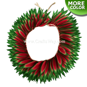Braided Heliconias Headband (L)