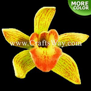 FSH305-L Artificial Foam Orchid Flowers (Cymbidium Type DL)