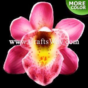 FSH305-S Artificial Foam Orchid Flowers (Cymbidium Type DS)