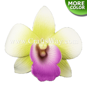 FSH306 Artificial Foam Orchid Flowers (Dendrobium Type A)