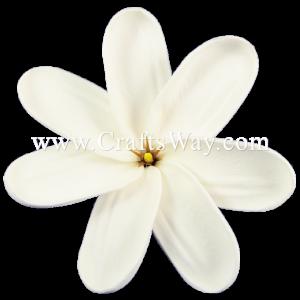 FSH415 Artificial White Foam Tiare Flowers (Type P)