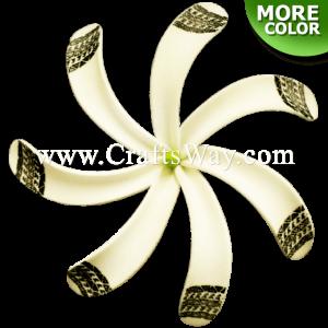 FSH430-A Artificial Foam Tiare Flowers (Type B Tribal-A)