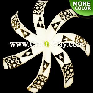 FSH430-C Artificial Foam Tiare Flowers (Type B Tribal-C)
