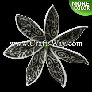 "FSH448 Artificial Foam Tiare Flowers (Type UI Tribal) 2 ½"", 12 Colors"