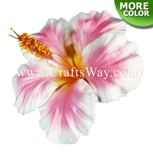 FSH509 Artificial Foam Hibiscus Flowers (Type G)