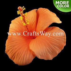 FSH512-L2 Artificial Foam Hibiscus Flowers (Type J)