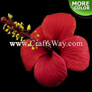 FSH512-M Artificial Foam Hibiscus Flowers (Type J)