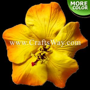 FSH513 Artificial Foam Hibiscus Flowers (Type K)