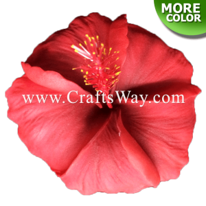 FSH515 Artificial Foam Hibiscus Flowers (Type O)