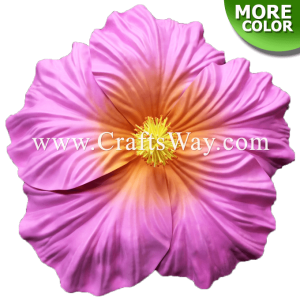 FSH516 Artificial Foam Hibiscus Flowers (Type P - Giant)