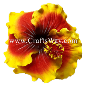 FSH517 Artificial Foam Hibiscus Flowers (Type Q)