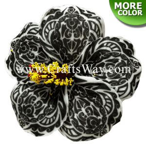 FSH518 Artificial Foam Hibiscus Flowers (Type R Tribal)