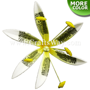 FSH809 Artificial Foam Spider Lily Flowers (Type H Tribal)