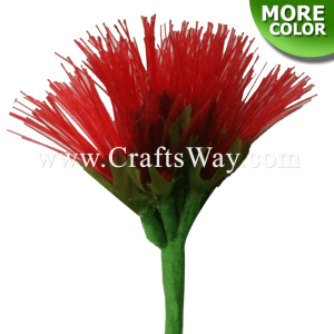 NY-100 Artificial Nylon Lehua Flower