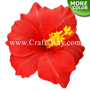 SK801 Artificial Silk Hibiscus Flowers