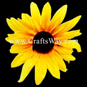 SK901 Artificial Silk Sunflower
