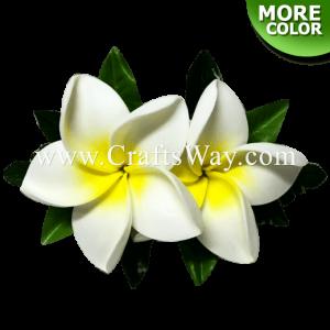 CMS-048 Custom Made Flower Hairpiece, Plumeria (JO) Hair Clip