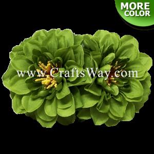 CMS-049 Custom Made Flower Hairpiece, Silk Dahlia (C) Hair Clip Hair Clip