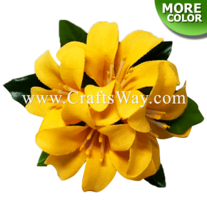 CMS-053 Custom Made Flower Hairpiece, Murraya Paniculata Hair Clip
