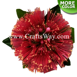 CMS-057 Custom Made Flower Hairpiece, Mini Lehua Hair Clip