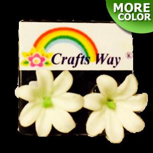 CYE-201 Artificial Clay Flower, Tiare Earrings