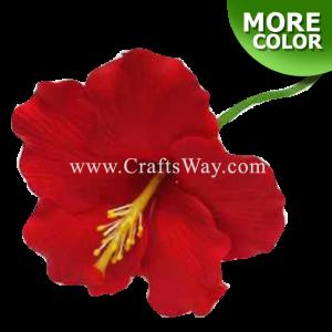 CYH-301 Artificial Clay Flower, Hibiscus Hair Pick