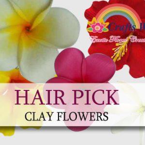 Clay Hair Picks