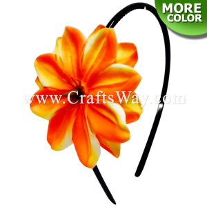 FHB4-001 Custom Made Flower Hairpiece, Tiare (AU) Headband
