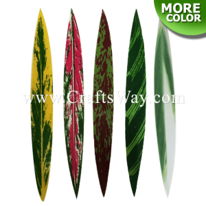 LS-001 Craft Supplies & Accessories, Smooth Silk Leaves