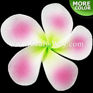 NY-101 Artificial Nylon Plumeria Flower