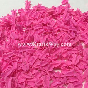 PLF-105 Artificial Plastic Crown Flower (Pink)