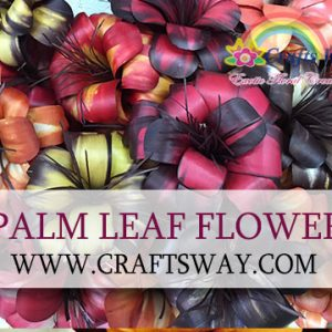 Palm Leaf Flower
