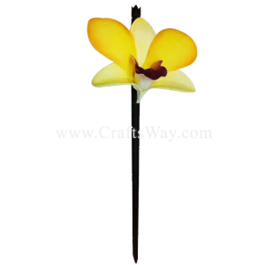 WD1F-502 Custom Made Flower Hairpiece, Dendrobium Hair Stick