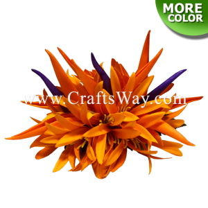 CML-006 Custom Made Flower Hairpiece, Spider Lily & Bird of Paradise Hair Clip, Hairpiece Made in Hawaii, Hair Accessories for Hawaiian Wedding Items, Hula Dancer