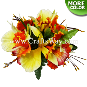 CML-009 Custom Made Flower Hairpiece, Ohai-Ali'i & Ginger Hair Clip