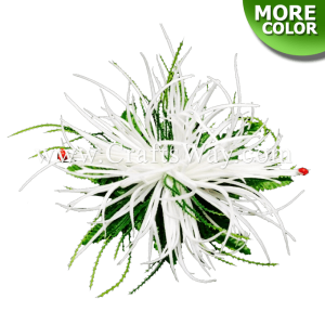 CML-019 Custom Made Flower Hairpiece, Spider Lily Hair Clip