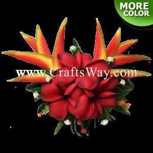 CML-026 Custom Made Flower Hairpiece, Plumeria (Z) Hair Clip