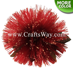 CML-033 Custom Made Flower Hairpiece, Lehua (L) Hair Clip