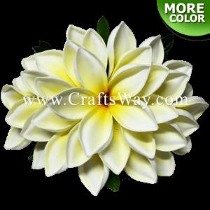CML-042 Custom Made Flower Hairpiece, Plumeria (N) Hair Clip