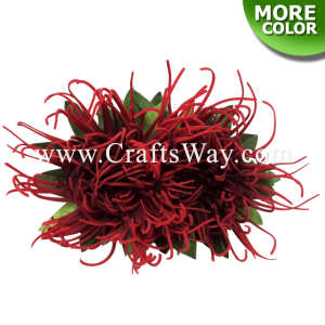 CMM-041 Custom Made Flower Hairpiece, Spider Mum Hair Clip