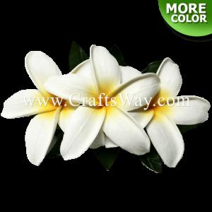 CMM-078 Custom Made Flower Hairpiece, Plumeria (GU) Hair Clip