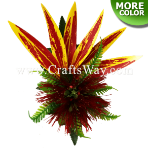 CMM-085 Custom Made Flower Hairpiece, Lehua Hair Clip