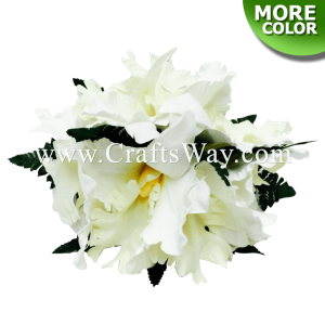 CMM-091 Custom Made Flower Hairpiece, Cattleya Orchid Hair Clip