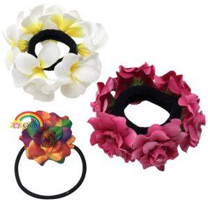 Flower Hair Bun