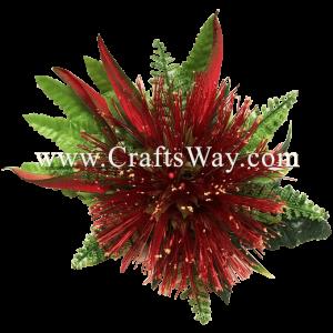 XMS-020 Custom Made Flower Hairpiece, Lehua Hair Clip