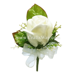 PM-101 Wedding & Special Event, Boutonniere - Rose